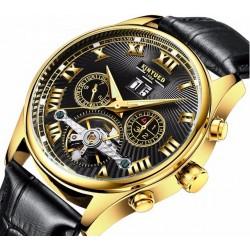 Elegantní mechanické hodinky Poatie back