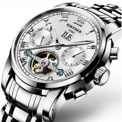 Bílé automatické hodinky Romulus