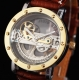 Automatické hodinky Raptor Hollow Gold