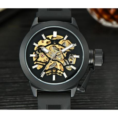 Masivní automatické hodinky Ace black
