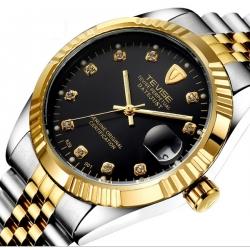 Ocelové automatické hodinky Rex TR100