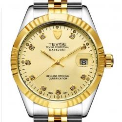 Ocelové automatické hodinky Rex STR100