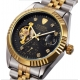 Ocelové automatické hodinky Rex Tour 100