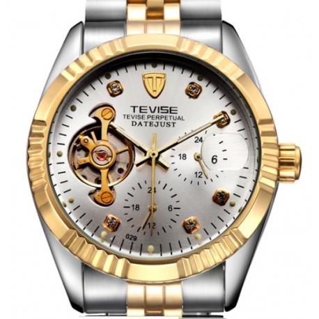 Ocelové automatické hodinky Rex Tour S 100