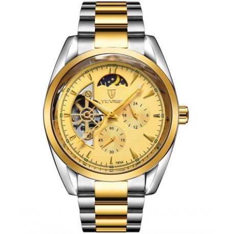 Ocelové automatické hodinky Rex Hol 100G